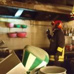 Incendio in un pub di Fabriano