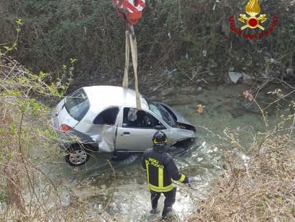 Incidente stradale a Fabriano