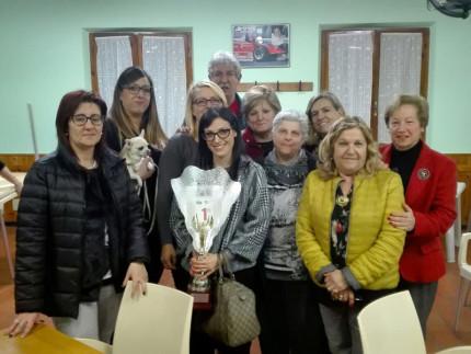 """Burraco, il campionato intercomunale va alla squadra """"Falconara 1"""""""