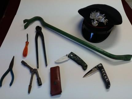 Controlli dei Carabinieri nella Vallesina