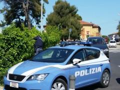 Arresto per droga della Polizia