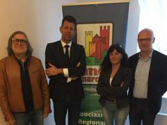 Renzo Perticaroli, Maurizio Mangialardi, Daniela Barbaresi, Marco Ferracuti