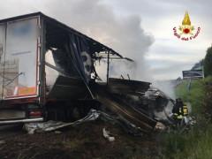 Incidente lungo l'A14