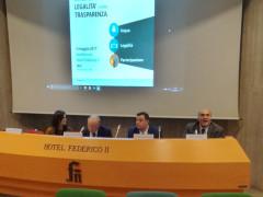 Jesi, gli interventi nell'incontro del Consorzio di Bonifica delle Marche. A destra il presidente regionale Claudio Netti