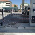 Furto al distributore del Cesano, Senigallia
