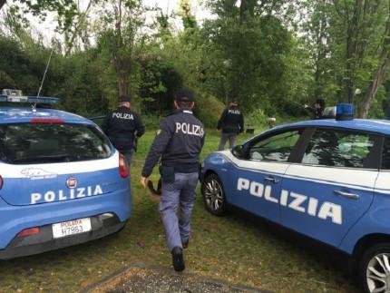 Polizia al parco