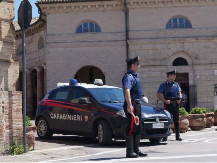 Carabinieri a Senigallia