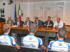 Presentata ad Ancona la rappresentativa marchigiana per il Giro d'Italia under 23