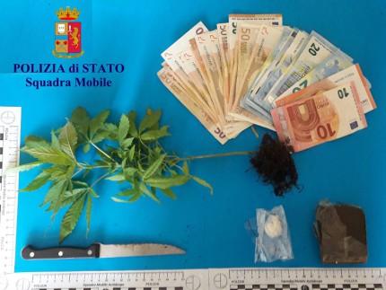 Arresto per droga ad Ancona