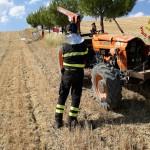 Incidente mortale, trattore ribaltato a Jesi