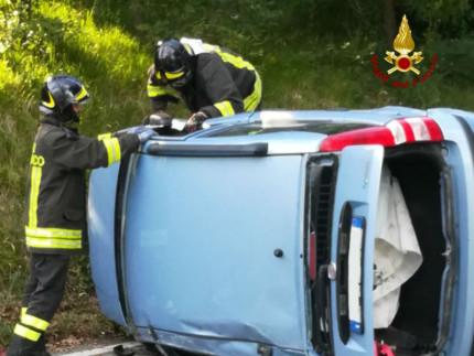 Incidente strdale a Fabriano