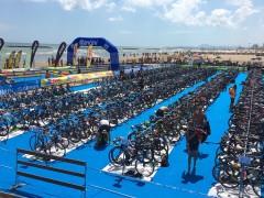 Le bici per il triathlon della Santini TriO Senigallia