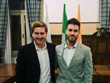 Marco Pettinari e Silvio Gregorini