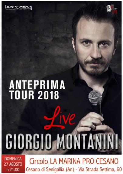 Giorgio Montanini ospite d'eccezione al Circolo di Cesano