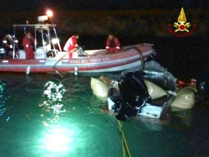 Vigili del Fuoco, soccorso in mare