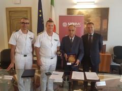Accordo tra Guardia Costiera e Unimc
