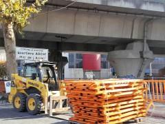 Lavori stradali ad Ancona