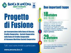 Fusione BCC Ancona-Falconara Marittima