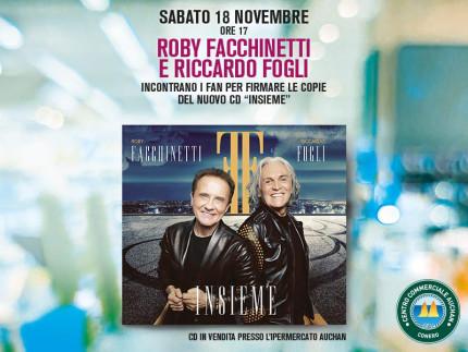 Riccardo Fogli e Roby Facchinetti al Centro Commerciale Auchan Conero