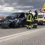Incidente stradale a Chiaravalle