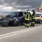 Incidente stradale a Chiaravalle