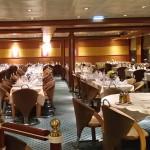 Anek Lines: salone ristorante