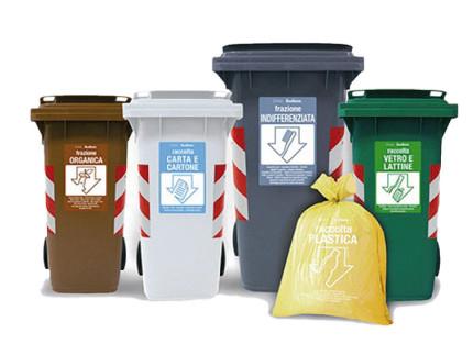 raccolta differenziata, gestione dei rifiuti urbani