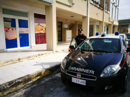 Arresto da parte dei Carabinieri