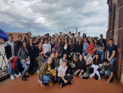 Studenti israeliani e serbi in visita a Falconara