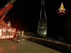 Incidente stradale a Monte San Vito