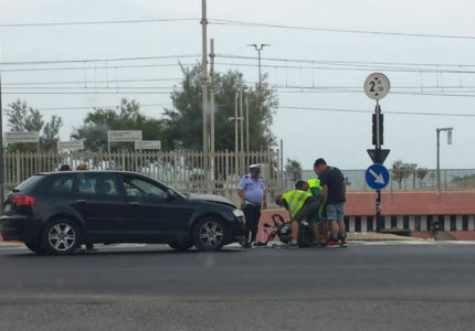 Incidente stradale a Marzocca