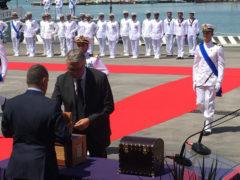 il presidente Ceriscioli ha consegnato la bandiera del combattimento