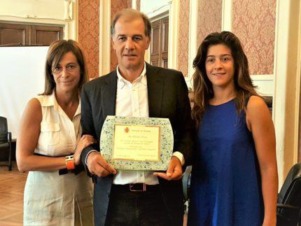 Premiazione di Alberto Rossi