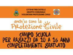 Campo scuola della Protezione Civile