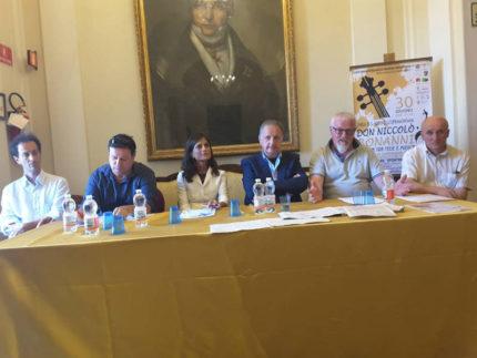 Conferenza stampa Don Niccolò Bonanni