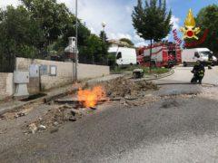 Fuga di gas a San Marcello