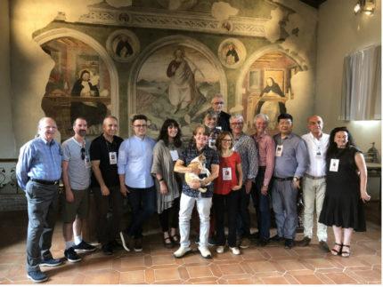 """La giuria del Premio Biennale Internazionale """"Fabriano Watercolour 2018"""""""
