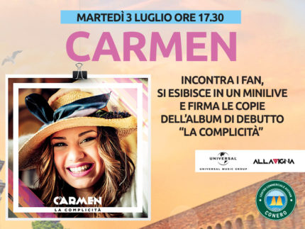Carmen al Centro Commerciale Auchan Conero