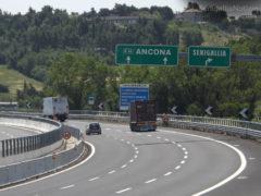 L'autostrada A14 tra Senigallia e Ancona Nord