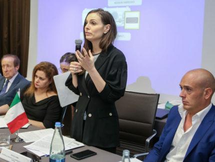 Manuela Bora alla conferenza sulle opportunità per le imprese in Pakistan