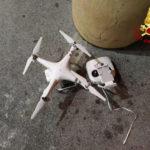 Drone recuperato a Marina di Montemarciano
