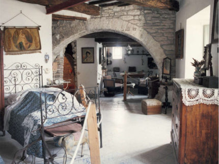 Camera da letto dell'Ottocento