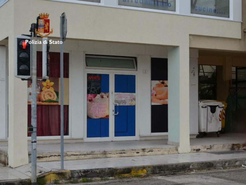 Centro massaggi hard sequestrato a Marina di Montemarciano