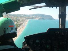 Controllo in elicottero nell'ambito del progetto Mitì 2