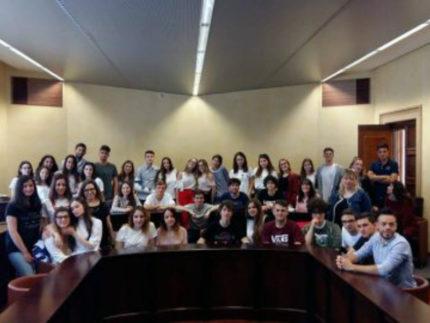 Studenti del Liceo Vito Volterra in alternanza scuola-lavoro