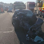 Incidente stradale in autostrada
