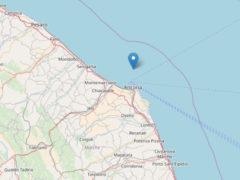 Scossa di terremoto in prossimità della costa di Ancona