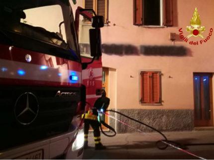 Incendio in un ristorante a Castelfidardo