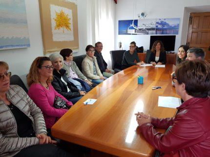 Incontro tra l'amministrazione comunale di Falconara Marittima e i residenti della frazione di Castelferretti