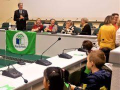 Premiazione delle scuole anconetane per il progetto Eco-school